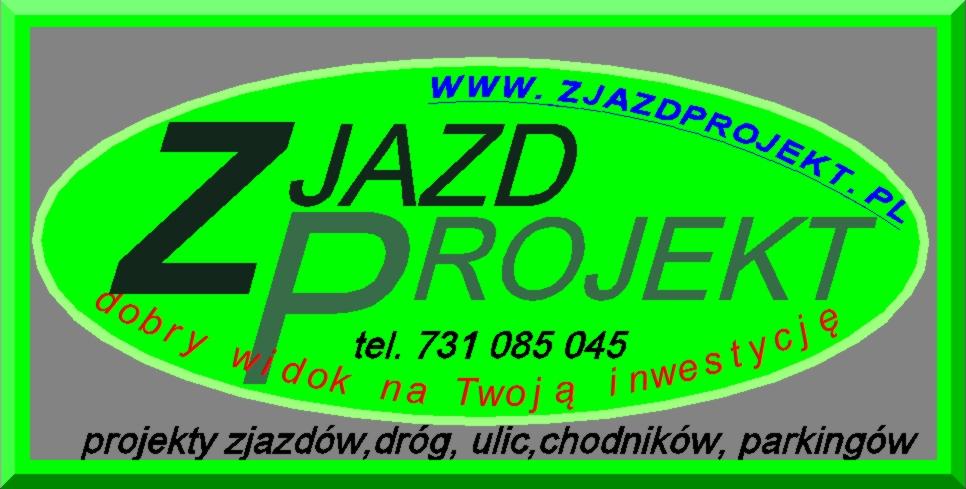 Super Projekt zjazdu z drogi - ZJAZDPROJEKT-projekty drogi, chodnika  OX-23